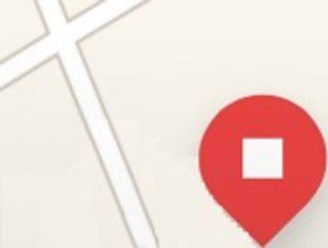 【ウーバーイーツ UberEATS】配達先が地図に表示される