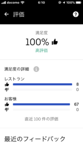 【ウーバーイーツ UberEats】67グッド